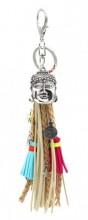 K018-003 Bag-Keychain Buddha Multi