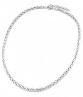 A-G5.4 N126-007 Stainless Steel Necklace Silver
