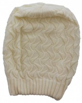 S-H2.2  Beanie Hat White
