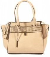 Y-E4.1 BAG121-002 Luxury PU Bag Brown 42x27cm