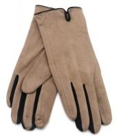 S-G5.3 GLOVE501-005A Soft Gloves Two-Tone Black-Brown