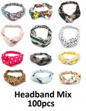 Headbands Mixed Styles 100pcs