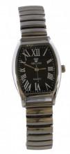 G-E8.2 Quartz Watch Stretch Bracelet 35x25mm Silver