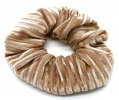 S-E2.4  H307-007F Scrunchie Rib Fabric Brown