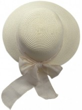 R-G2.1 HAT504-009A Hat with Ribbon Beige