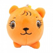 Z-F5.2 TOY308-002E Plush Squishy Lion 8x8 cm