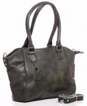 Q-D1.1  BAG-788 Luxury Leather Bag 39x24x10cm Green