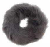 S-E7.2 H414-002 Scrunchie Fluffy Grey