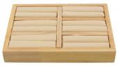 R-M2.2 PK328-001 Wooden ring Display  2.5x18x13cm