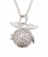 J-B1.1 Angel Catcher with Wings Silver 16MM