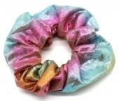 S-E6.1 H307-003C Scrunchie Metallic Multi