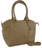T-E1.1  BAG-788 Luxury Leather Bag 39x24x10cm Light Brown