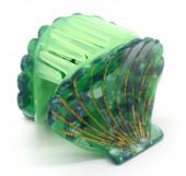 X-J1.2 H413-047A Hair Clip Shell 4.5cm Green