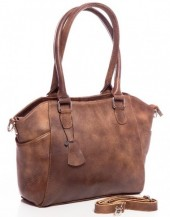 T-E1.1 BAG-788 Luxury Leather Bag 39x24x10cm Brown