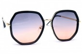 X-K7.1 GL019-017B Trendy Sunglasses UV400 - Cat 3 Brown