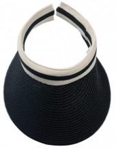 Q-N6.2 HAT504-008A Sun Vizor Black