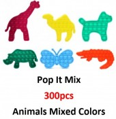 Pop It Animal Mix - 300pcs