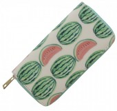 Wallet with Watermelons 19x10cm