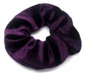 S-K5.2 H305-009 Scrunchie Velvet Purple