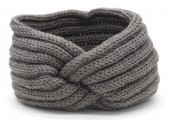 T-A2.1 H401-001D Knitted Headband Grey