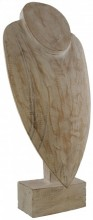 R-N4.2 #50036 Wooden Necklace Display 51x23x14cm White