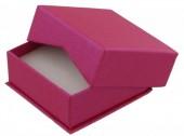 X-O6.1 Luxury Giftbox for Earrings 6.5x6.5x2.8cm Pink 10pcs