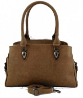 T-K1.2 BAG-948 Luxury Leather Bag 40x21x10m Brown