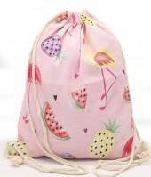 Z-C6.5 BAG542-004C Backpack Fruit Flamingo Pink