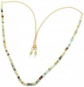 H-E15.2  GL703 Sunglass Chain Semi Predious Stones