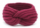 T-B2.2 H401-001H Knitted Headband Purple