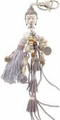 I-F7.3 K009-020 Key-Bag  Chain Boho Buddha 27cm