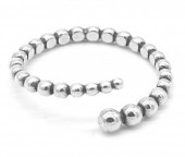 E-A21.3 SR104-103 925S Silver Ring Adjustable Balls