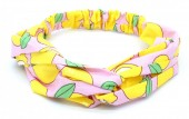 S-B6.2  H034-019 Headband Lemons