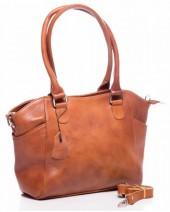 T-B7.1 BAG-788 Luxury Leather Bag 39x24x10cm Cognac