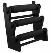 R-I4.2 50006 Wooden Display 3 layers 27x29x13cm Black