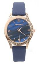 C-A19.4  W523-078 Quartz Watch 36mm with Crystals Blue