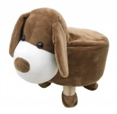 Y-D1.5  STOOL506-002 Plush Stool Dog