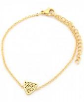 A-C10.1  B1842-010 S. Steel Bracelet 10mm Leopard GoldA-C10.1  B1842-010 S. Steel Bracelet 10mm Leopard Gold