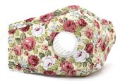 T-D8.1 GM046-010L Face Mask - Individually Packed with room for Filter Flowers