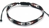 B-B5.3 B2039-017C Bracelet with Glassbeads Black