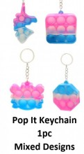 R-O3.2 KY2139-011 Pop It Keychain - Mixed Designs - 1pc