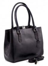 R-H1.2 Luxury Leather Bag 35x26cm Black