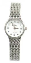 E-A2.2 W002-009 Metal Quartz Watch 22mm Silver