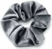 S-J7.3 H305-009 Scrunchie Velvet Grey