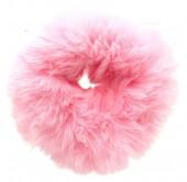 S-A7.4 H414-004D Fluffy Scrunchie Pink
