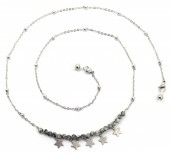 E-E7.5 SGL043 Sunglass Chain Stainless Steel Stones and Stars