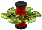 Spring With Flip Top Spinner Green