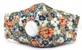 J-A4.1 GM046-010L Face Mask - Individually Packed with room for Filter Flowers