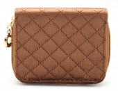 X-F3.1 WA321-003 Small Velvet Wallet Brown