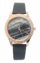 D-B20.1 W523-078 Quartz Watch 36mm with Crystals Black